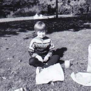 Laura in GG Park, March 1969